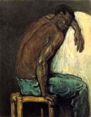Paul Cezanne - The Negro Scipio