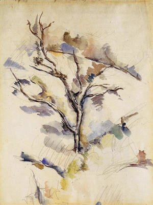 Paul Cezanne - The Oak Tree