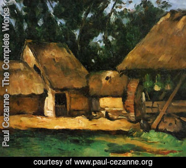 Paul Cezanne - The Oilmill
