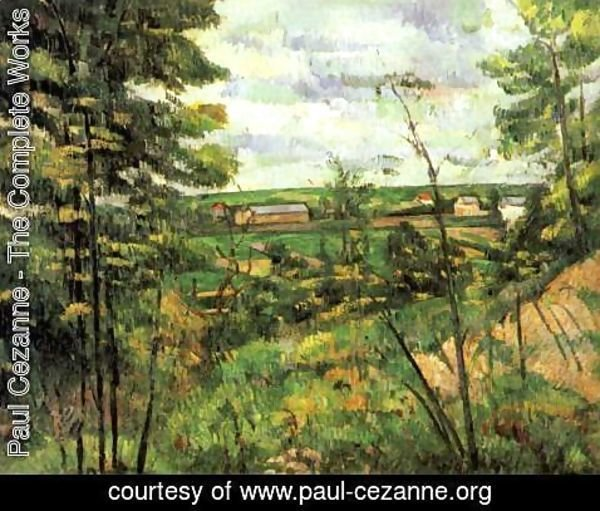 Paul Cezanne - The Oise Valley