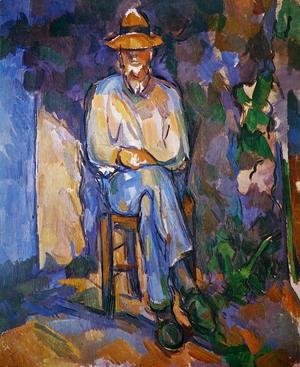 Paul Cezanne - The Old Gardener