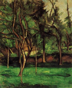 Paul Cezanne - The Orchard