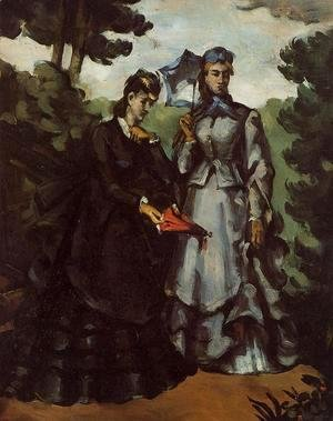 Paul Cezanne - The Promenade