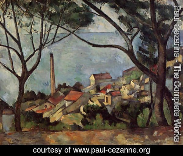 Paul Cezanne - The Sea At L Estaque