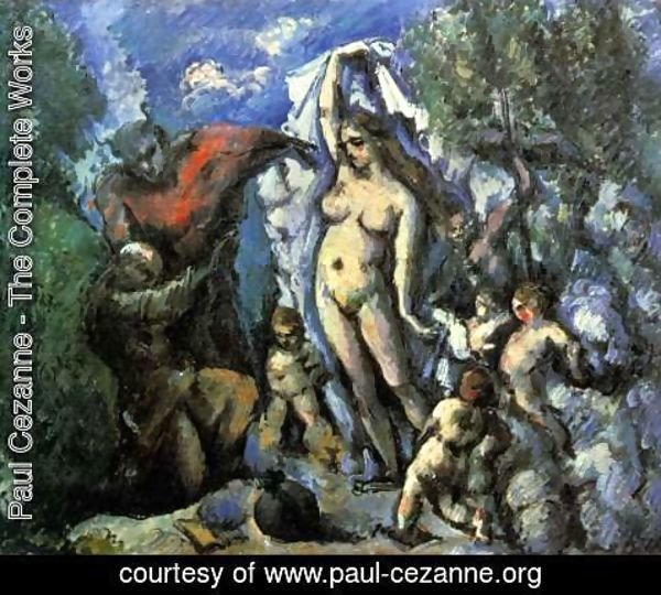 Paul Cezanne - The Temptation Of Saint Anthony