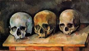 Paul Cezanne - The Three Skulls