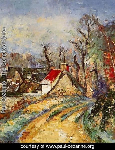 Paul Cezanne - The Turn In The Road At Auvers