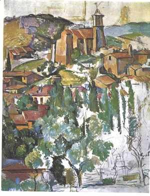 Paul Cezanne - The Village Of Gardanne