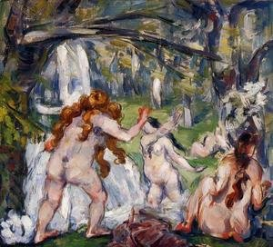 Paul Cezanne - Three Bathers2