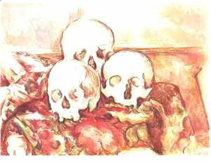 Paul Cezanne - Three Skulls