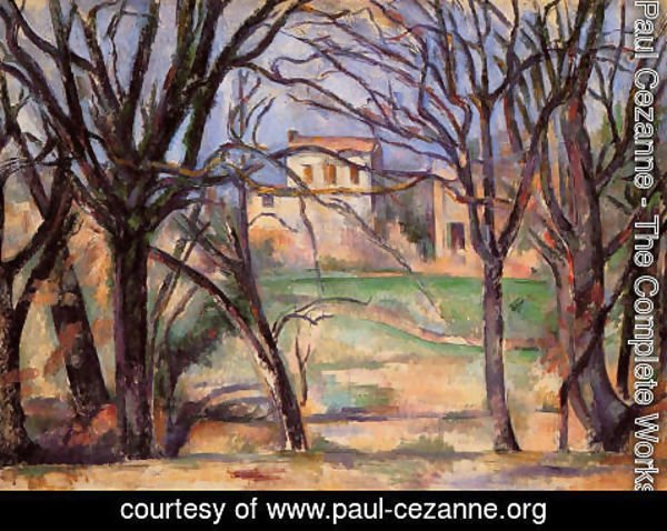 Paul Cezanne - Trees And Houses
