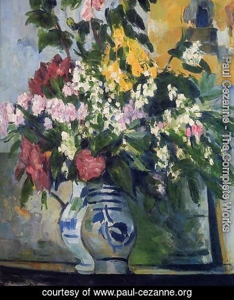 Paul Cezanne - Two Vases Of Flowers