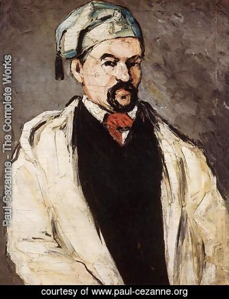 Paul Cezanne - Uncle Dominique Aka Man In A Cotton Hat