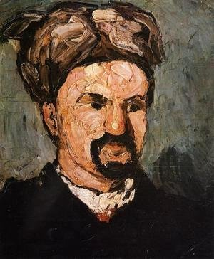 Paul Cezanne - Uncle Dominique In A Turban