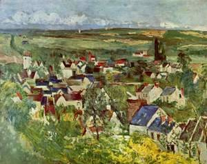 Paul Cezanne - View Of Auvers Sur Oise