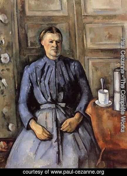 Paul Cezanne - Woman With A Coffeepot