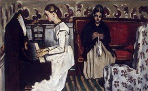 Paul Cezanne - Young Girl At The Piano   Overture To Tannhauser