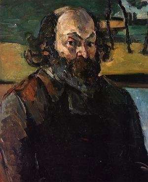 Paul Cezanne - Self-Portrait